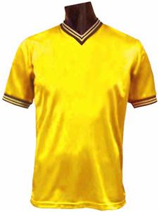 682009a41 Pre-Numbered - GOLD Soccer Jerseys W BLACK  s - Closeout Sale - Soccer  Equipment and Gear