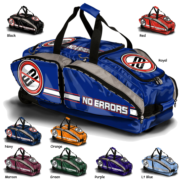 No Errors Ho E2 Baseball Catcher Equipment Bags