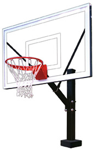 HydroSport Select Swim Pool Fixed Basketball Goal