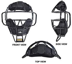 a409de658e853d ALL-STAR FM2000UMP Baseball Umpire's Face Masks - Baseball Equipment & Gear