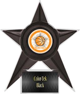 "Hasty Awards Basketball Stellar Ice 7"" Trophy"
