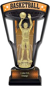 "Hasty Awards 9.25"" Stadium Back Basketball Trophy"
