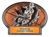 Hasty Awards Basketball Burst-Out Resin Men Trophy