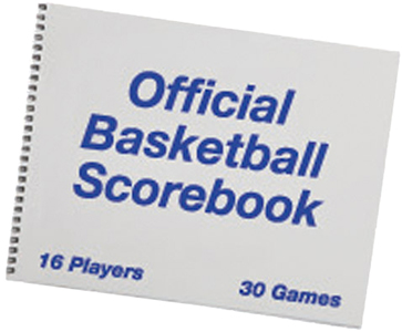 Champion Sports Basketball Scorebook