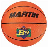 Martin B9 Women's Intermediate Rubber Basketballs