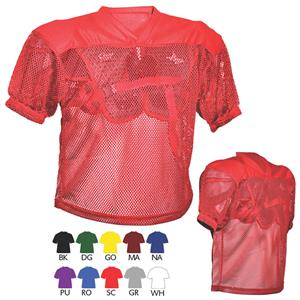 5564d79a2 All-Star FBJ1A Adult Porthole Mesh Football Jersey - Football Equipment and  Gear