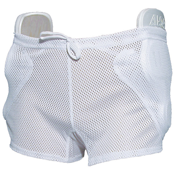 Youth Football Girdle Three 3 Pad Integrated Girdle Size Youth Large NEW
