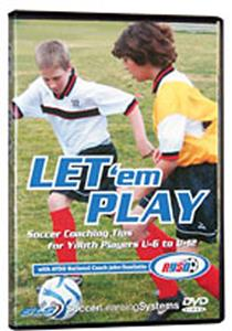 Soccer Learning Systems Let 'em Play DVD