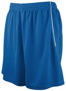 "Womens 7"" Mock Mesh Basketball Softball Shorts"