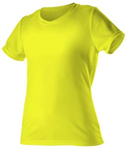 Alleson Women's  Crew Neck Slim Fit Cooling T-Shirt Jersey - CO