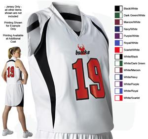 Alleson 558w Women S Custom Basketball Jerseys Basketball