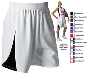 Alleson 558PW Women s Basketball Shorts - Basketball Equipment and Gear c8d4974450