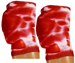 Red Lion Retro Tie Dyed Knee Pad Covers - Volleyball Equipment and Gear 27acbce0bdca
