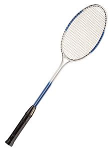 Champion Double Steel Shaft/Frame Badminton Racket ...
