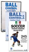 Soccer Italian Style 2 DVDs/1 book Set