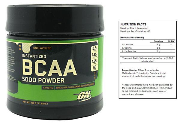 optimum food instantized bcaa 5000 comminute review