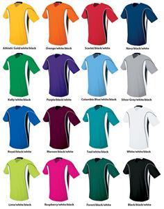 0813110e017 High Five Adult   Youth HELIX Custom Soccer Jerseys - Soccer ...