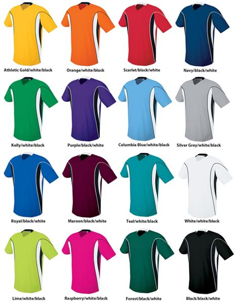 size 40 a4b28 366aa High Five Adult & Youth HELIX Soccer Jerseys