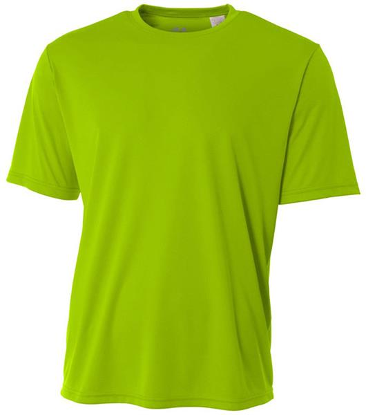 A4 Womens Cooling Performance Crew Short Sleeve Tee Activewear