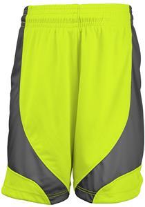 "Girls 5"" Inseam Cooling  Color Block Shorts (No Pockets)"