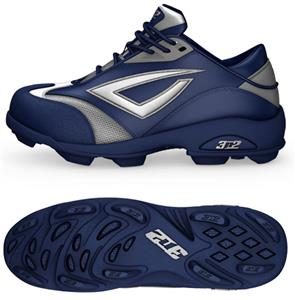 10567cd5e 3n2 Womens Accelerate Fastpitch Molded Cleats Navy - Baseball ...