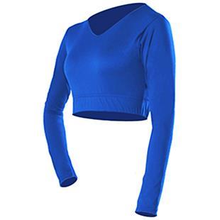 Alleson Cheerleader Body Basics V-Neck Midriff Top