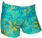 "Plangea Spandex 2.5"" Sports Shorts - Groovy Print"