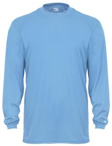 Badger B-Tech Long Sleeve Performance Tees. Printing is available for this item.