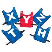 Fisher Vinyl Mesh Football Scout Vests - Set of 5