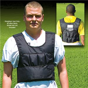 Fisher Sports Training 22 lb Weighted Vests - Soccer Equipment and Gear 54e5c4828