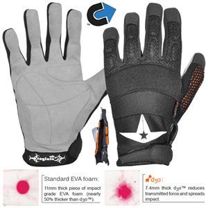 All Star Adult D3o Ff Football Lineman Gloves Football
