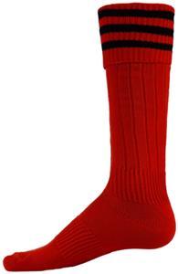 2bd72a50392f Red Lion 3 STRIPE STRIKER Athletic Socks - Soccer Equipment and Gear