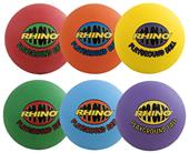 Champion Sports Rhino Max Playground Ball Set of 6