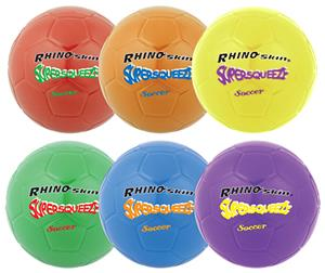 Champion Sports Super Squeeze Soccer Ball Set of 6