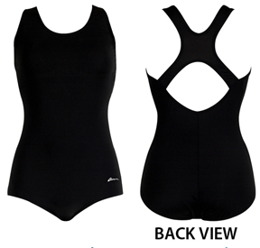 6a08b97ac619c Dolfin Aquashape Conservative Lap Swimsuit Solids - Swimming Equipment and  Gear
