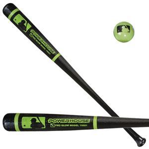 mlb glow in dark 33 5 pro style bat ball baseball equipment gear