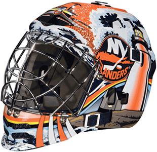 NHL New York Islanders Mini Street Hockey Mask | Epic Sports