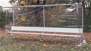 Goal Sporting Goods Covered Benches