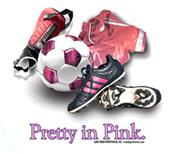 Pretty in Pink soccer tshirts