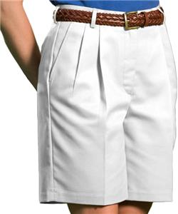 92dfd94c Edwards Misses' & Womens Pleated Front Shorts