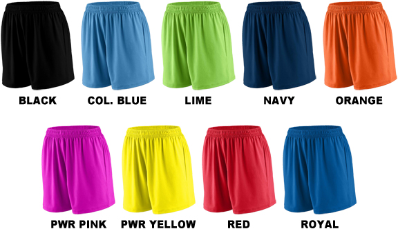 Augusta Sports Ladies Inferno Short Pack of 3