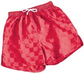 High 5 Checkerboard Soccer Shorts-Closeout