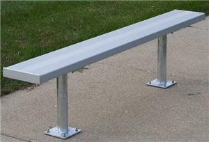 NRS Permanent Bench W/O Backrest Surface Mount (72 HOUR FAST SHIP). Free shipping.  Some exclusions apply.