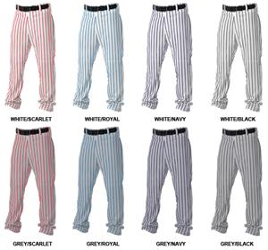 2a6ab8d1419 Alleson 605WPN Open Bottom Pinstripe Custom Baseball Pant - Baseball ...