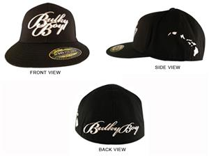 b4819999aa38dc Bulky Boy Signature Black Hat with Island Chain - MMA Equipment and Gear