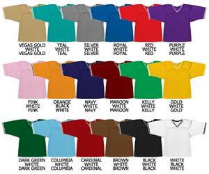 Football All Dazzle Cloth Jersey Stripe Neck