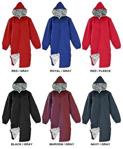 Adoretex Fur Fleece Lining Swim Dive Parka Jacket Swimming