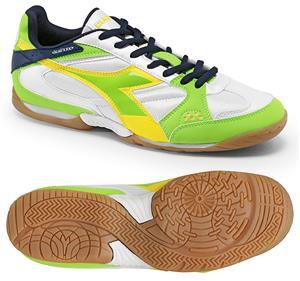 81a4d5bcaea0 Diadora Quinto ID Futsal Soccer Shoes - Green - Soccer Equipment and Gear