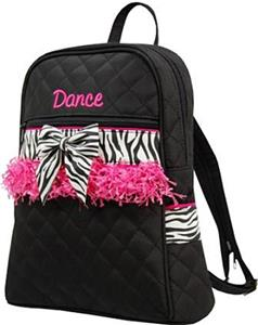 2dfb1dde62 Sassi Designs Childs Dance Zebra Backpack - Cheerleading Equipment ...