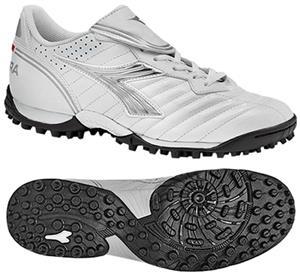 090595868 Diadora Scudetto LT TF W Soccer Shoes - White - Soccer Equipment and Gear